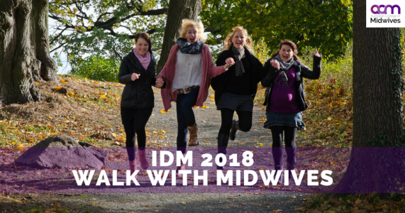 International Walk with Midwives Day