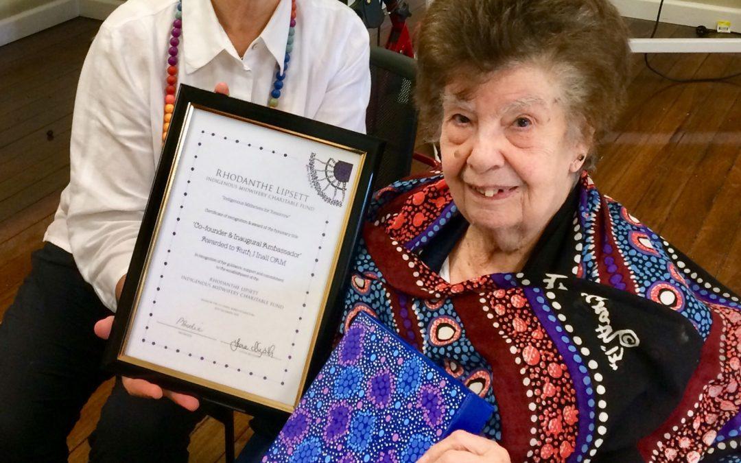 Celebration of Ruth J Inall OAM